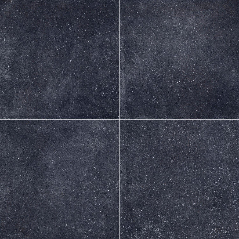 Keramische Terrastegels 60x60.Barcelona Anthracite 60x60 Cm Van Calster