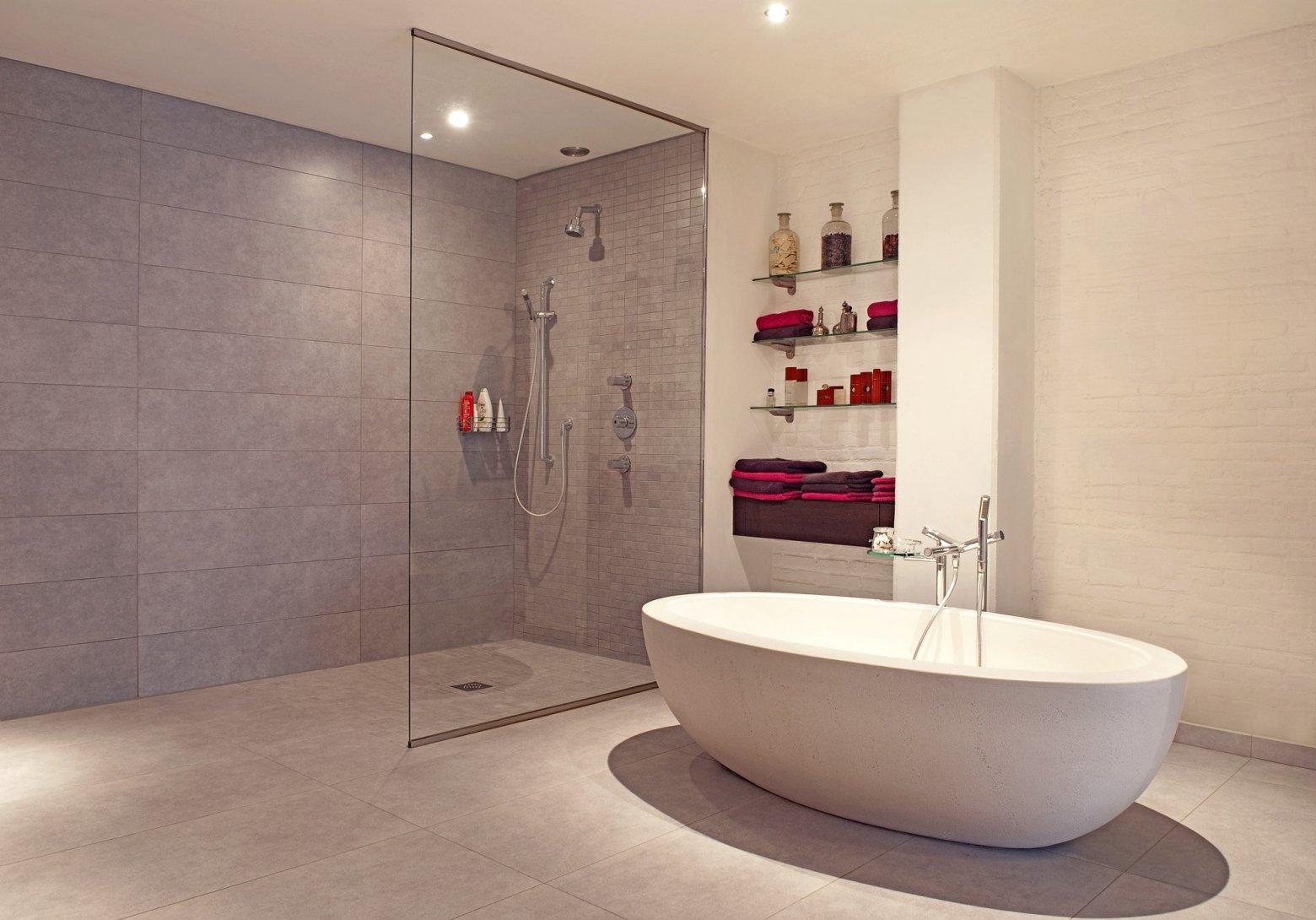 Inloopdouche Met Badkamertegels : Badkamerrenovatie ga voor van calster kwaliteit aan de laagste prijs