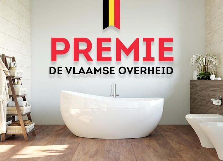 Renoveer je badkamer met steun van de Vlaamse overheid