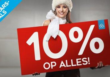 Eindejaar deals bij Van Calster: NU 10% op ALLES !