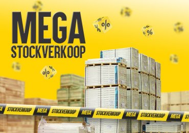 Ontdek onze Mega Stockverkoop